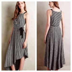 Anthropologie Maeve Salsola High Low Maxi Dress